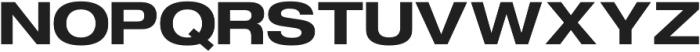 FLURO Bold otf (700) Font UPPERCASE