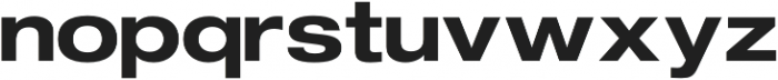 FLURO Bold otf (700) Font LOWERCASE