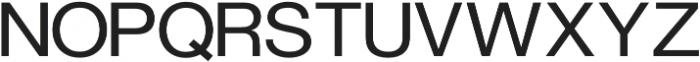 FLURO Regular otf (400) Font UPPERCASE