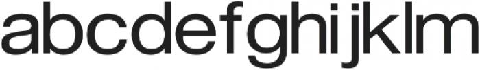 FLURO Regular otf (400) Font LOWERCASE