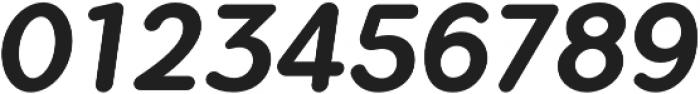 Flamante Round Medium Italic otf (500) Font OTHER CHARS