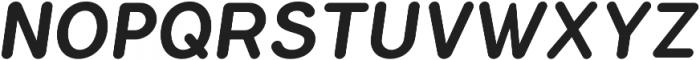 Flamante Round Medium Italic otf (500) Font UPPERCASE