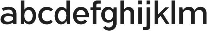 Flamante Sans Book otf (400) Font LOWERCASE