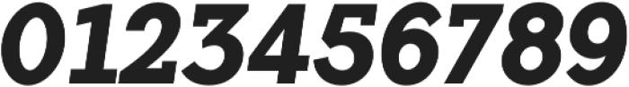 Flamante SemiSlab Bold Italic otf (700) Font OTHER CHARS