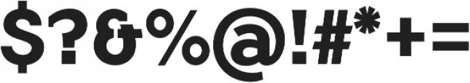 Flamante SemiSlab Bold otf (700) Font OTHER CHARS