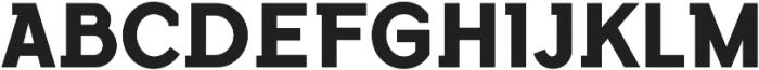 Flamante SemiSlab Bold otf (700) Font UPPERCASE