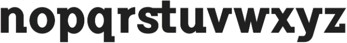 Flamante SemiSlab Bold otf (700) Font LOWERCASE