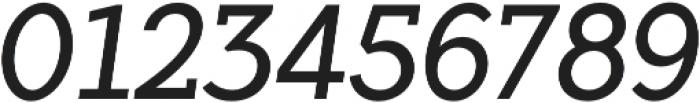 Flamante SemiSlab Light Italic otf (300) Font OTHER CHARS