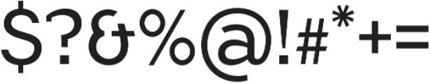 Flamante SemiSlab Light otf (300) Font OTHER CHARS