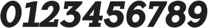 Flamante Serif Bold Italic otf (700) Font OTHER CHARS