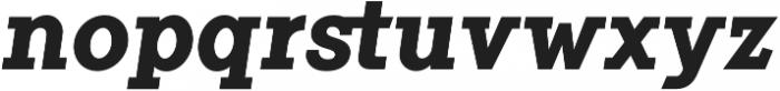 Flamante Serif Bold Italic otf (700) Font LOWERCASE