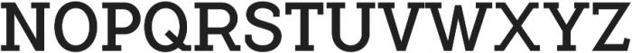 Flamante Serif Book otf (400) Font UPPERCASE