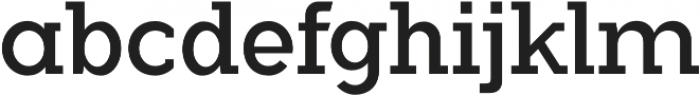 Flamante Serif Book otf (400) Font LOWERCASE