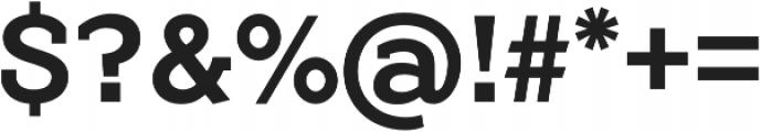 Flamante Serif Medium otf (500) Font OTHER CHARS
