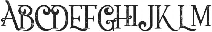 Flamingo grunge otf (400) Font UPPERCASE