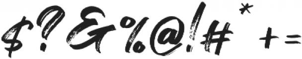 Flashing otf (400) Font OTHER CHARS