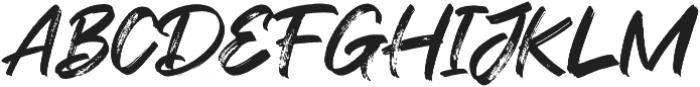 Flashing otf (400) Font UPPERCASE
