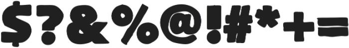 FlatBread ttf (400) Font OTHER CHARS