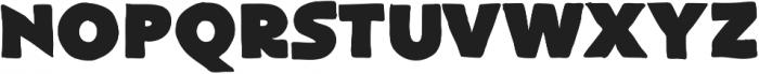 FlatBread ttf (400) Font UPPERCASE