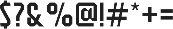 Flathead Deco Regular otf (400) Font OTHER CHARS