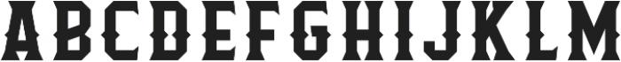 Flathead Deco Regular otf (400) Font LOWERCASE