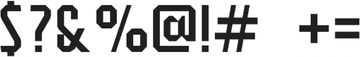 Flathead Regular otf (400) Font OTHER CHARS