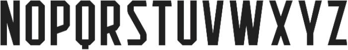 Flathead Regular otf (400) Font UPPERCASE