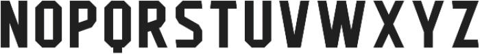 Flathead Regular otf (400) Font LOWERCASE