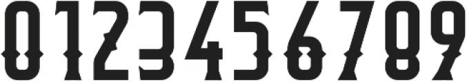 Flathead Round Deco Regular otf (400) Font OTHER CHARS