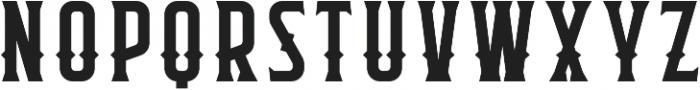 Flathead Round Deco Regular otf (400) Font UPPERCASE