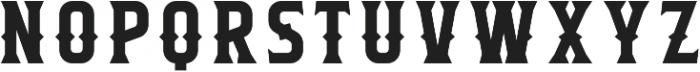 Flathead Round Deco Regular otf (400) Font LOWERCASE