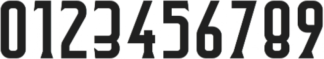 Flathead Round Serif Regular otf (400) Font OTHER CHARS