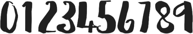Flattering otf (400) Font OTHER CHARS