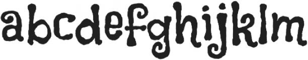 Flavors Pro otf (400) Font LOWERCASE