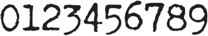Fletcher Jumpy Typewriter otf (400) Font OTHER CHARS