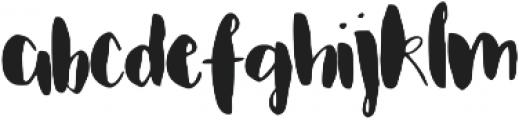 Fletcher Regular ttf (400) Font LOWERCASE