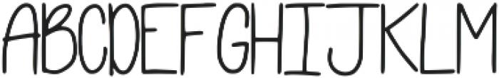 Flexy Font Regular otf (400) Font UPPERCASE