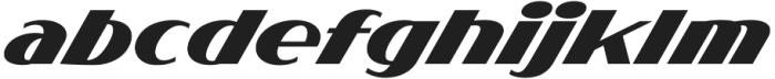 Flighter otf (300) Font LOWERCASE