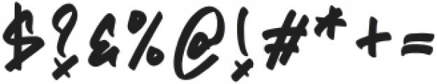 Flim Flom Graffiti otf (400) Font OTHER CHARS