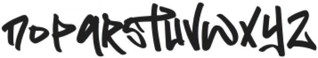 Flim Flom Graffiti otf (400) Font LOWERCASE