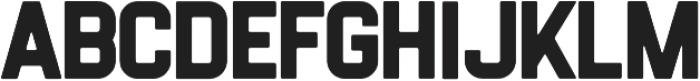 Flintstock Round otf (400) Font UPPERCASE