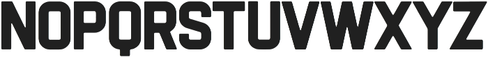 Flintstock Round otf (400) Font LOWERCASE