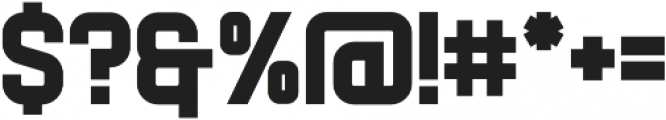 Flintstock otf (400) Font OTHER CHARS