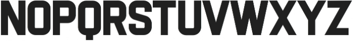 Flintstock otf (400) Font UPPERCASE