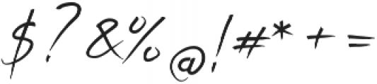 Flora Regular Regular ttf (400) Font OTHER CHARS