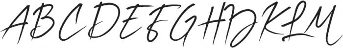 Flora Regular Regular ttf (400) Font UPPERCASE