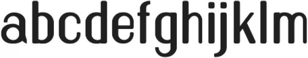 Florence Semi Bold rounded otf (600) Font LOWERCASE