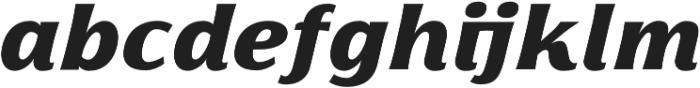 Florentia Black Italic otf (900) Font LOWERCASE