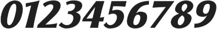 Florentia ExtraBold Italic otf (700) Font OTHER CHARS