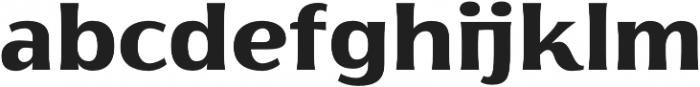 Florentia ExtraBold otf (700) Font LOWERCASE